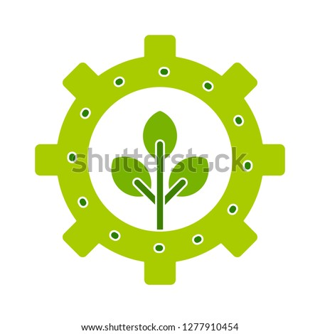renewable-energy pictogram icon - renewable-energy pictogram isolate, green power illustration- Vector ecology