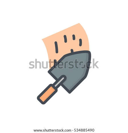 Renovation Icon Trowel Cement