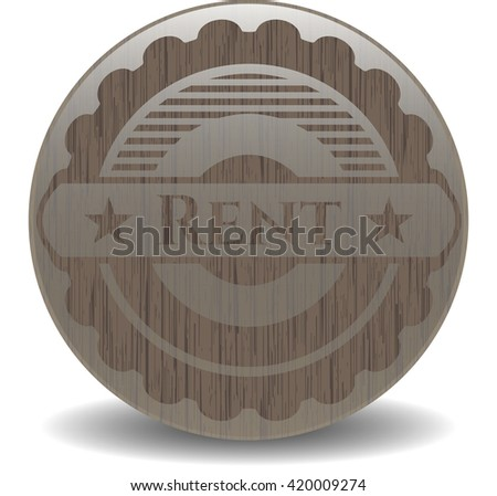 Rent realistic wood emblem