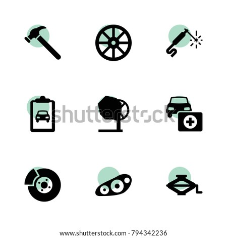 repair icons vector collection