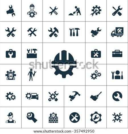 repair Icons Vector set
