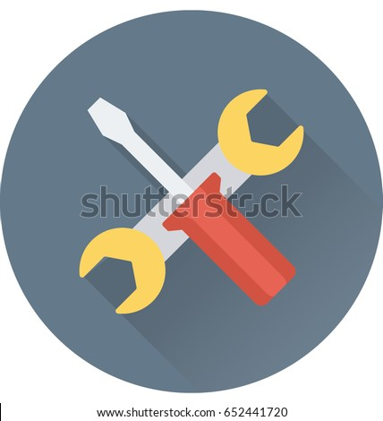 Repair Tools Vector Icon