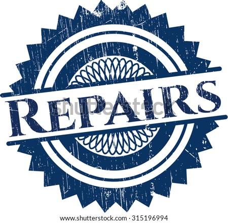 Repairs rubber seal