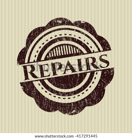 Repairs rubber texture