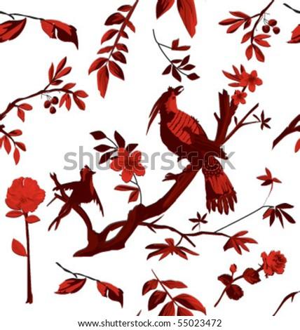 repeatable birds pattern