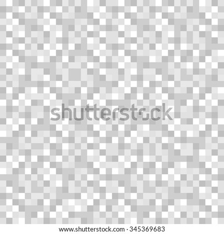 Repeatable pattern with random squares. Vector art. stock photo