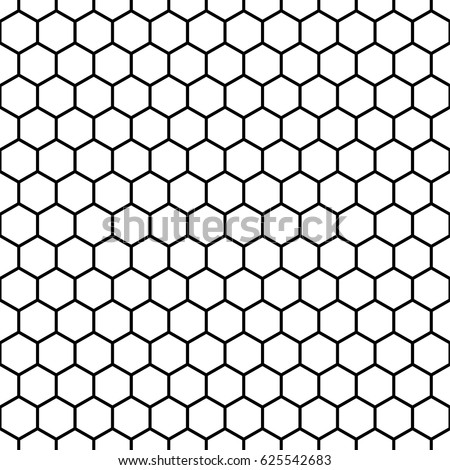 repeated white polygons on