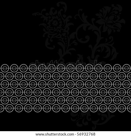 Repeating background pattern. The pattern is included as a seamless swatch for easily creating large fills.