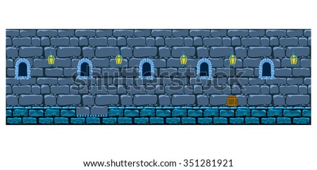 repeating background stone wall