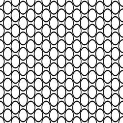 Repeating black white ellipse pattern
