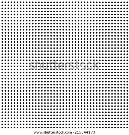 repeating seamless background of dots - vector