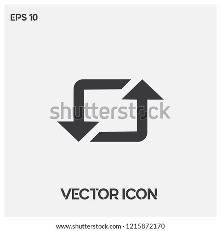 Repost icon vector illustration.Flat instagram repost vector icon.Premium quality.