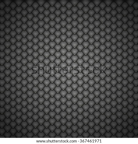 reptile black scales pattern