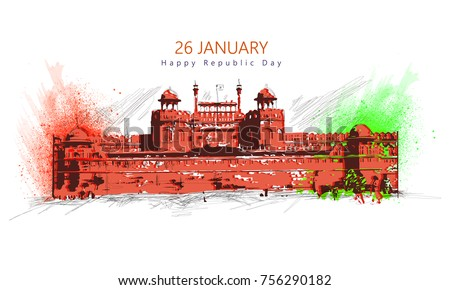 Republic Day(Republic Day honours the date on which the Constitution of India)