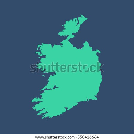 republic of ireland map