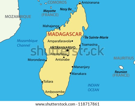 Free Vector Map of Madagascar Free Vector Art at Vecteezy