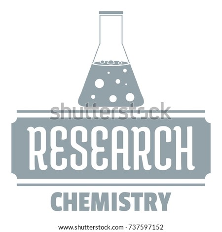 research chemical logo simple