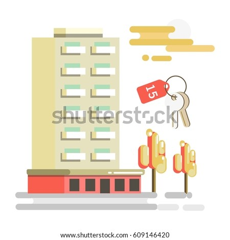 residential building and flat