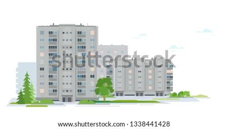 residential neighborhood of