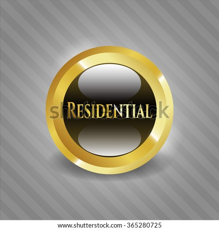 Residential shiny badge