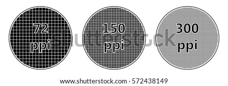 resolution screen pixel density of ppi, the ppi vector