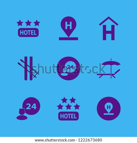 resort icon resort vector