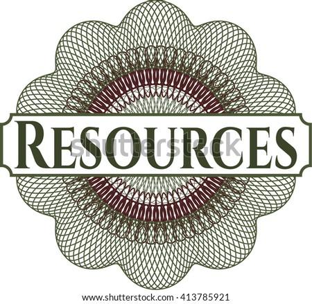 Resources rosette