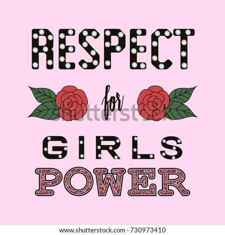 respect girl power fashion