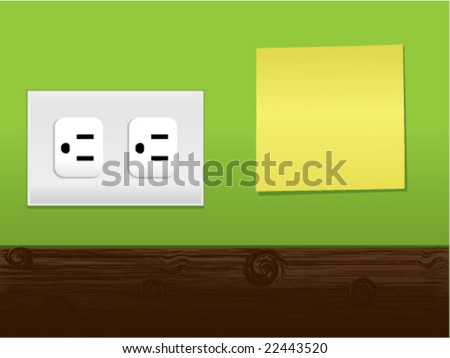 Responsible and Energy Conservation Series - stock vector