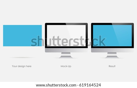 responsive computer monitor