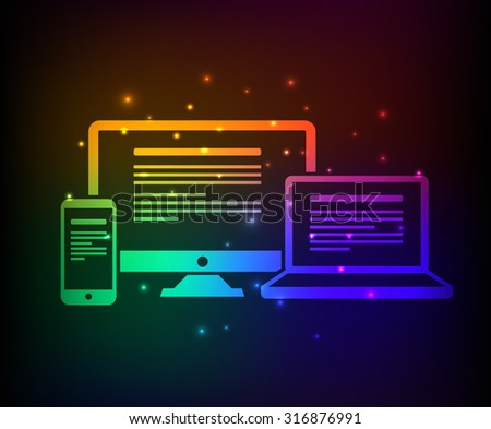 responsive design abstract