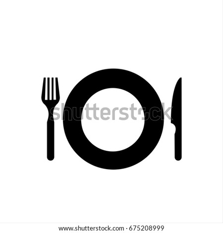 Restaurant icon in trendy flat style isolated on background. Restaurant icon page symbol for your web site design Restaurant icon logo, app, UI. Restaurant icon Vector illustration, EPS10.