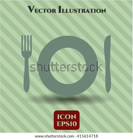 Restaurant icon or symbol