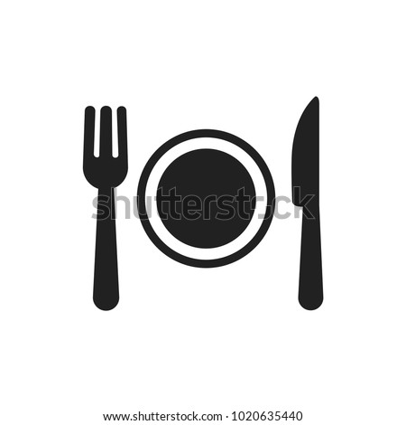 Restaurant icon page symbol for your web site design Restaurant icon logo  app  UI. Restaurant icon Vector illustration  EPS10.
