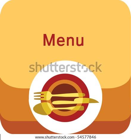 Restaurant Design on Restaurant Menu Design Stock Vector 54577846   Shutterstock