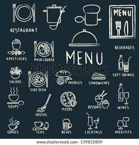 restaurant menu design elements