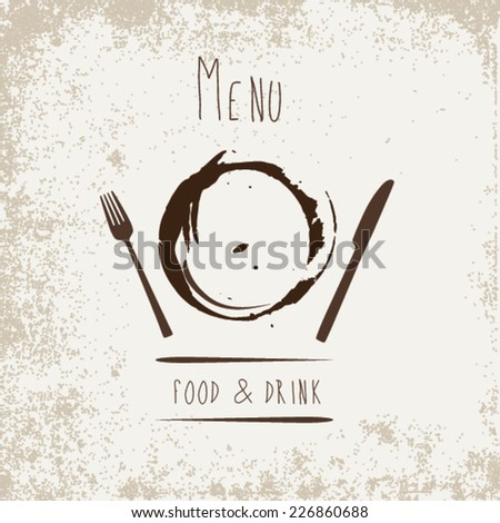 Restaurant Menu Design - Food & Drink