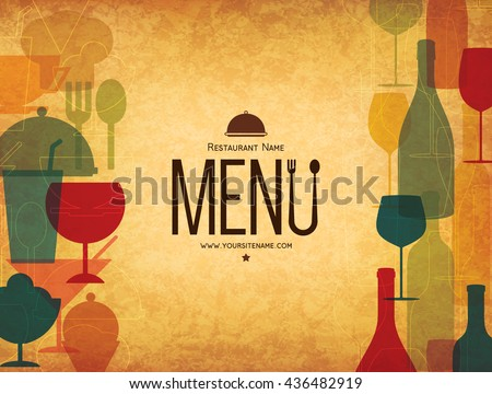 Free Restaurant Menu Card Vector Design  Download Free Vector Art