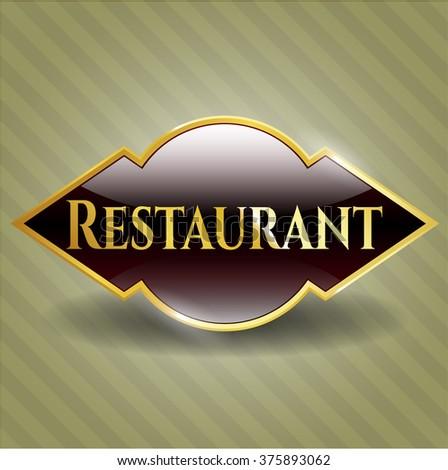Restaurant shiny badge