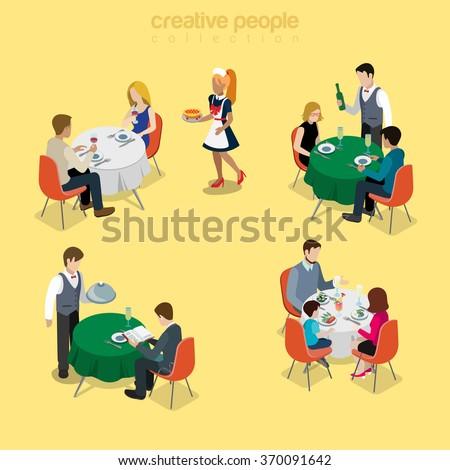 restaurant table waiter