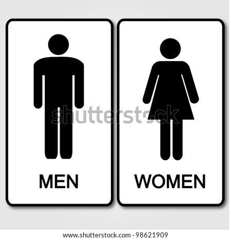 Bathroom Sign Vector Free Download free rest room vector icons - download free vector art, stock