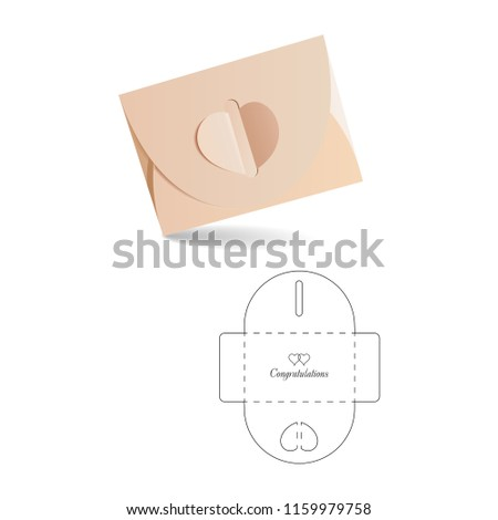 Retail Envelope with Blueprint Template