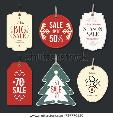 retail sale tags and clearance...