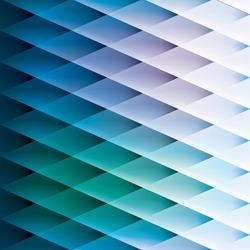 Retro background, pattern rhombus, transition from light to dark, vector design