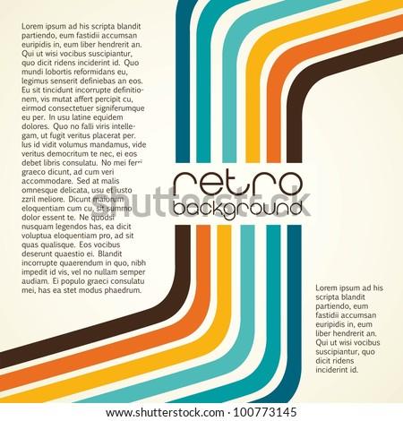 retro background, vintage, vector illustration, background