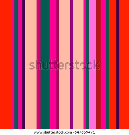 retro bright colorful seamless