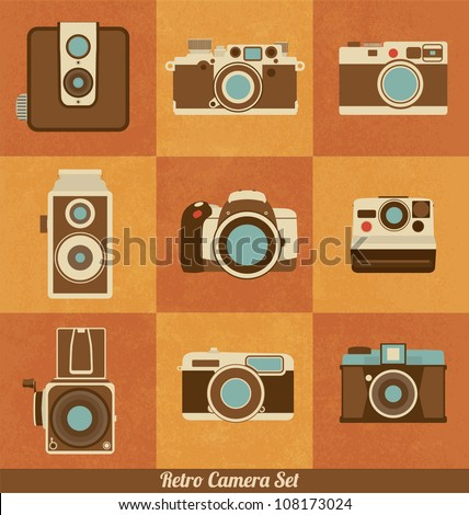 retro camera set