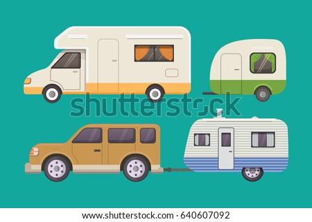 retro camper trailer collection....