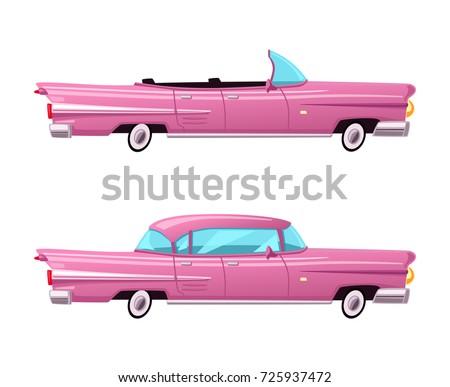 retro car vintage lowrider