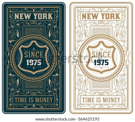 retro cards set